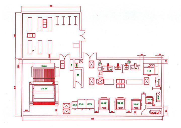 酒店首层平面设计图